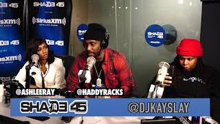 BX own Haddy Racks interview with Dj Kayslay on Shade45