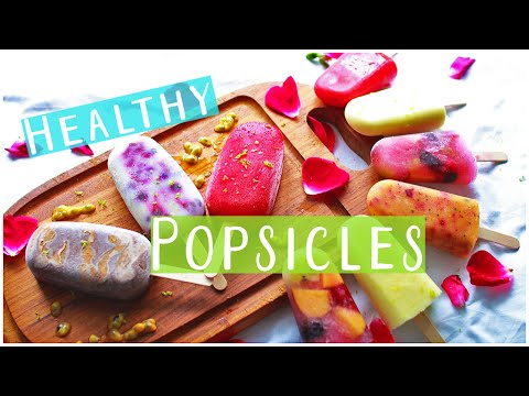 6 Healthy Popsicle Recipes!! | Easy & Delicious for Summer
