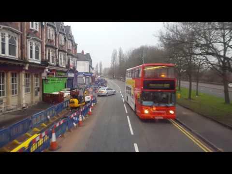Smethwick High Street Bus journey Birmingham