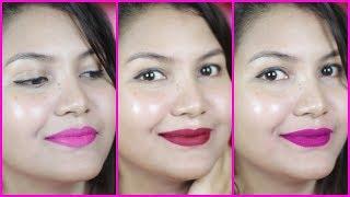 top 6 bright color lipsticks for festive season/indiangirlchannel trisha