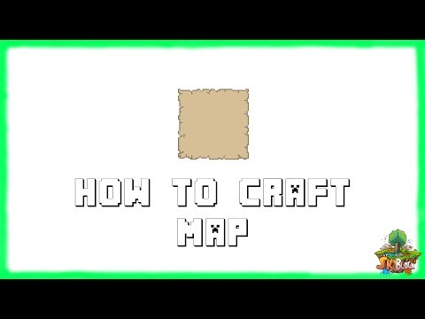 Minecraft 1.12.2: How to Make MAPS! Recipe Tutorial for Minecraft 1.12.2 | 2018