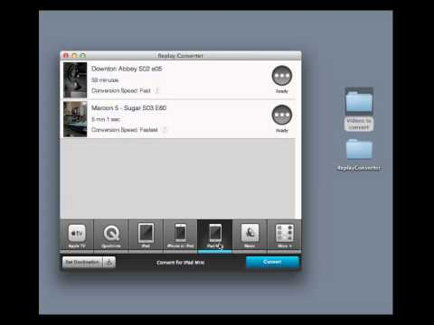 Introduction to Replay Converter For Mac