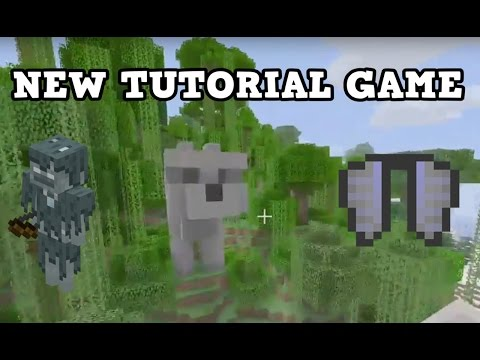 Minecraft Xbox One / PS4 TU46 NEW TUTORIAL WORLD GAME
