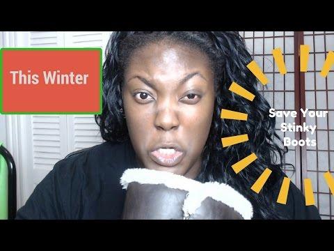 How to Stop Shoe Odor! Ugg Boot Nightmare!
