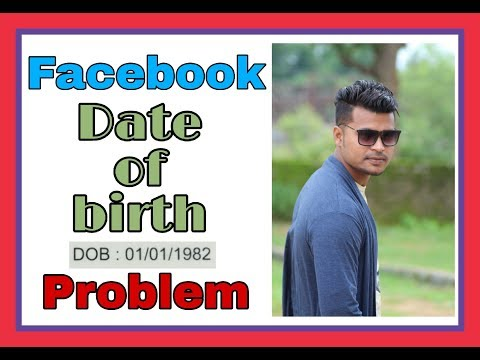 How to change facebook date of birth // many times