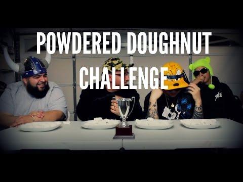 Powdered Doughnut Challenge