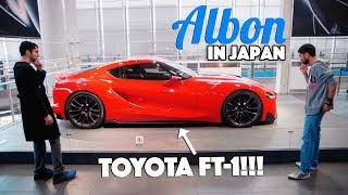 We Find The New Toyota Supra?! - Albon In Japan - EP01