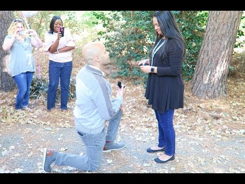 She Said Yes!!! Proposing To Cassie (The Love Of My Life)