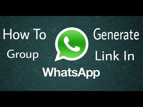 How to Create Whatsapp Group Chat Invitation link