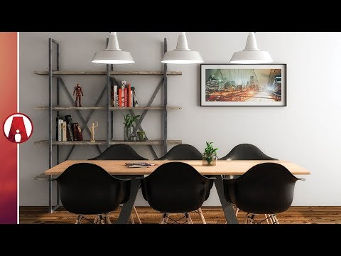 Interior Rendering Tutorial + FREE MODEL | Vray 3.4 for Sketchup BETA