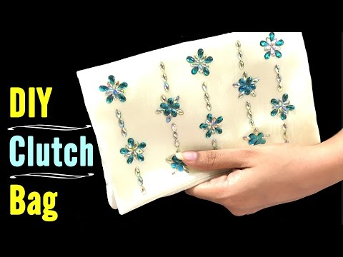 DIY Clutch Bag Tutorial | Making a Clutch Bag at Home by Live Creative