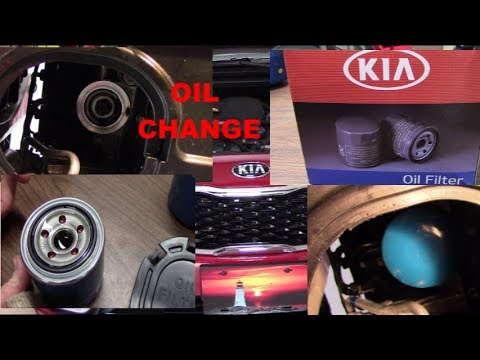 Changing OIL STEP BY STEP 2017 Kia Forte