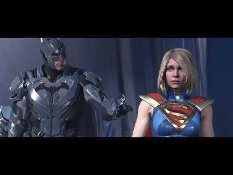 INJUSTICE 2  (Batman ending) superman thrown into phantom zone