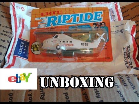 eBay Unboxing - 1984 Ertl Riptide Diecast Helicopter