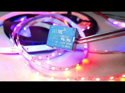 LED strip blinking (flash) without using any circuit and Arduino