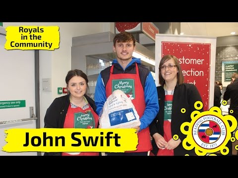 Swifty lends a helping hand at Waitrose!