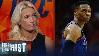 Russell Westbrook's shot selection is more vital than ever - Sarah Kustok | NBA | FIRST THINGS FIRST