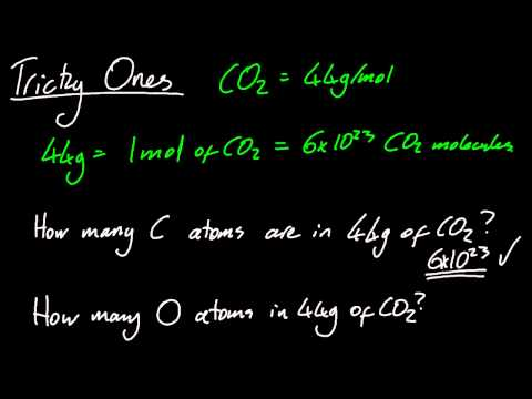 1.2 Determine the number of particles/amount of substance (in moles) [SL IB Chemistry]