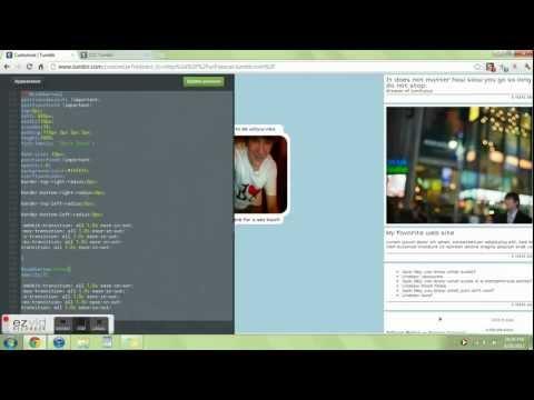 Tumblr Link Bar Tutorial