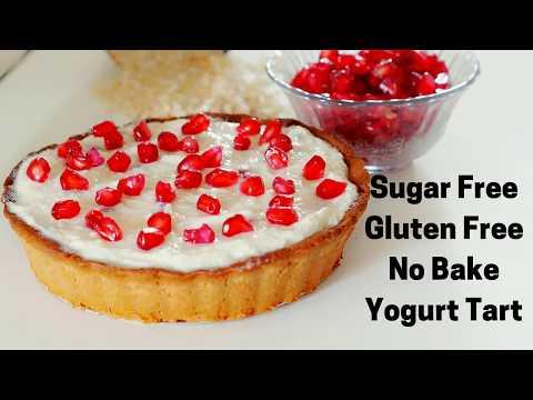 Sugar Free Gluten Free No Bake Tart in Hindi - Gluten Free Sugar Free Oats Tart