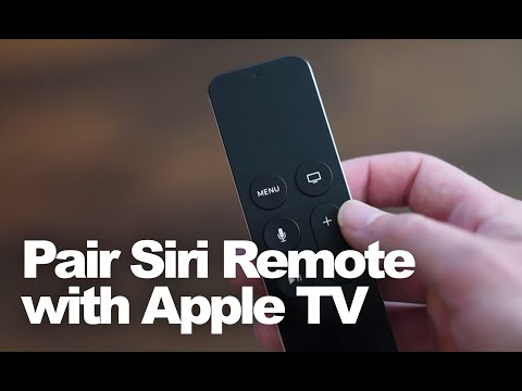How to Pair the Siri Remote with the new Apple TV