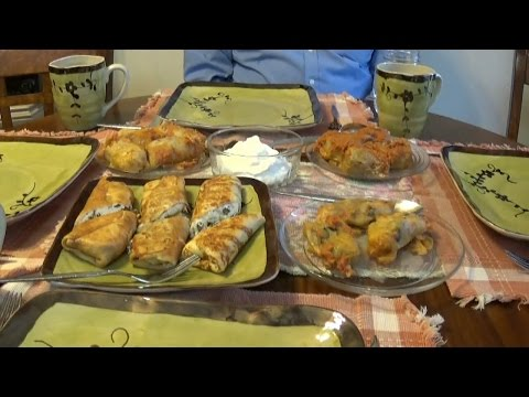 Marycia's Cooking Class-Cabbage Rolls & Making Cheese-1 of 2