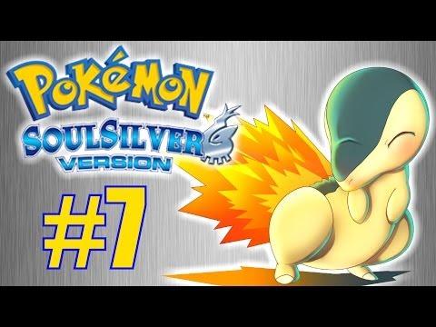 Pokemon Soul Silver Walkthrough - Ep. 007 - Dark Cave and Quilava!