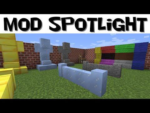 Mod Spotlight: Building Bricks (Minecraft 1.8)