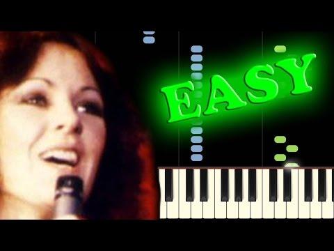 ABBA - MAMMA MIA - Easy Piano Tutorial