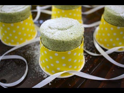 Japanese Cotton Soft Cheesecake - Fluffy Matcha Asian Bakery Cake Recipe