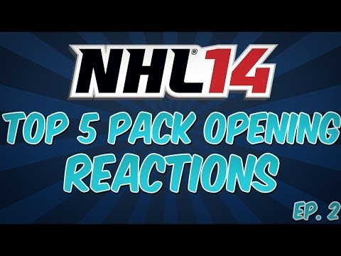 NHL 14 I TOP 5 PACK REACTIONS #2