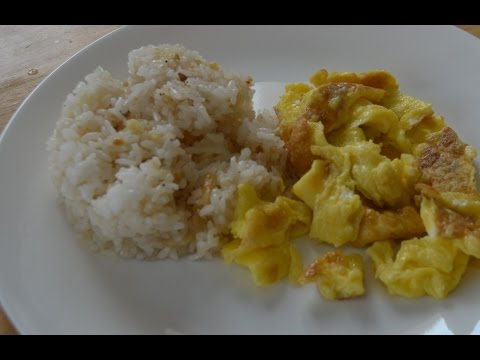 How to Cook Garlic Sinangag Rice - Lutong Pinoy