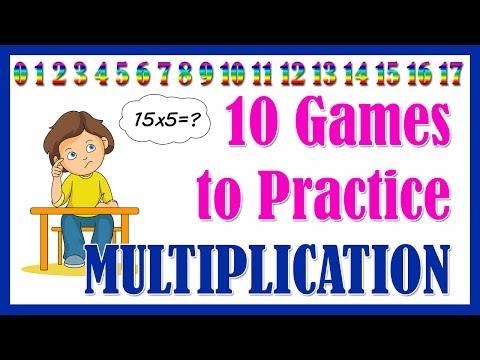 10 MULTIPLICATION GAMES