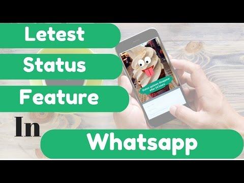WhatsApp Status Feature...!!! whatsapp has changed...!!!