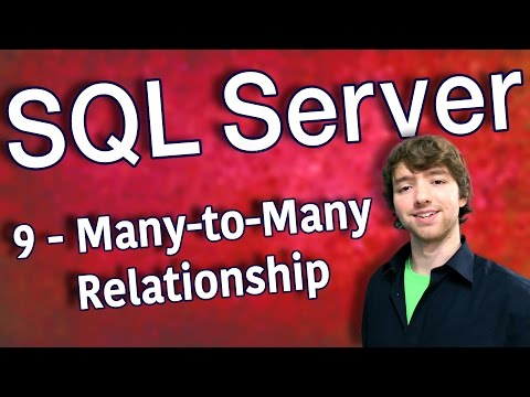 SQL Server 9 - Many-to-Many Relationship