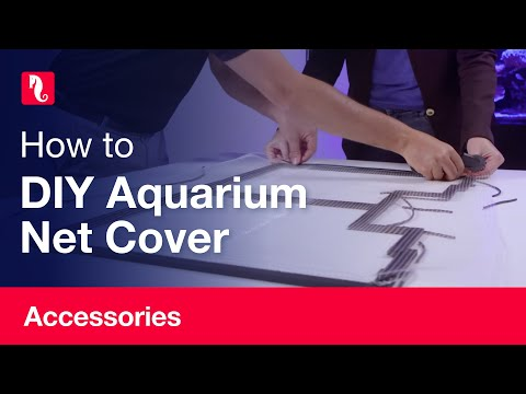 How to Build a Red Sea DIY Aquarium Net Cover (English)