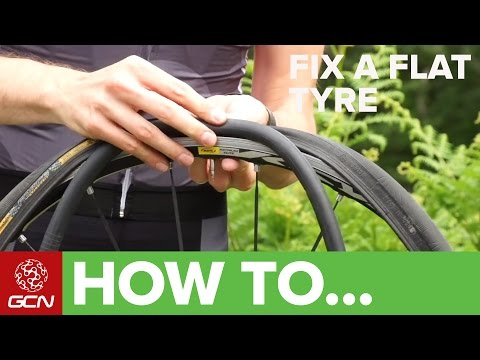 How To Fix A Flat Tyre - Fix A Road Bike Puncture