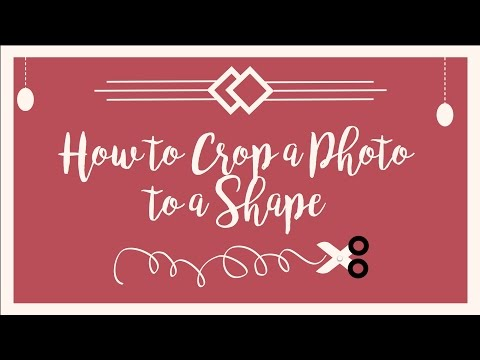 How to crop a photo/images to a shape using Powerpoint