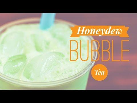 Honeydew Latte Bubble Tea Recipe by Bubble Tea Supply