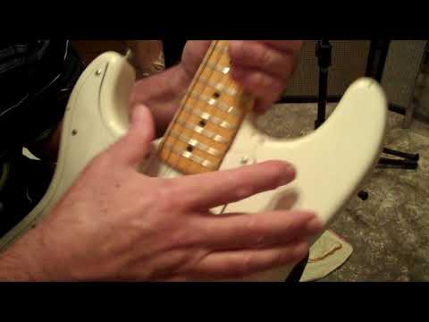 How to Keep Your Standard Stratocaster Tremolo In Tune
