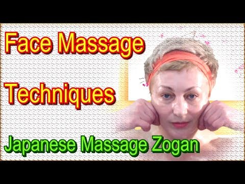 Face Massage Techniques Yukuko Tanaka - Japanese Lymphatic Drainage #Facial Massage Zogan at Home
