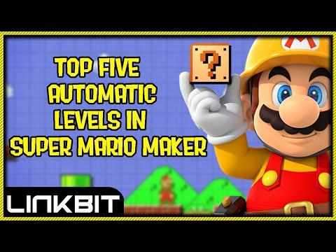 Top 5 Automatic Levels In Super Mario Maker (April 2016)