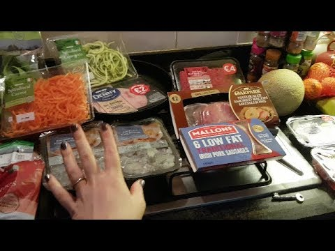Tesco Online Grocery Haul For Family Of Three (Slimming World Friendly)