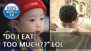 SUNGMIN and SIHO are big eaters! XD [The Return of Superman/2018.05.13]