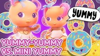 Yumi-Yummy vs. mini Yumi - Bellies Babák