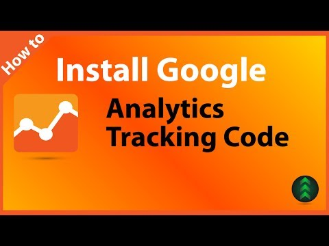 How To Install Google Analytics Tracking Code