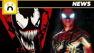 VENOM Will Feature Tom Holland Spider-Man!