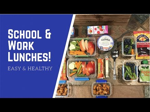 Fabulous School & Work Lunches!