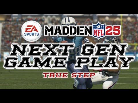 Madden NFL 25 || Next Gen || True Step || PS4