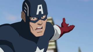 Captain America all transformation in animation